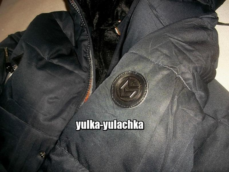 Зимняя мужская удлиненная куртка - Фото 6