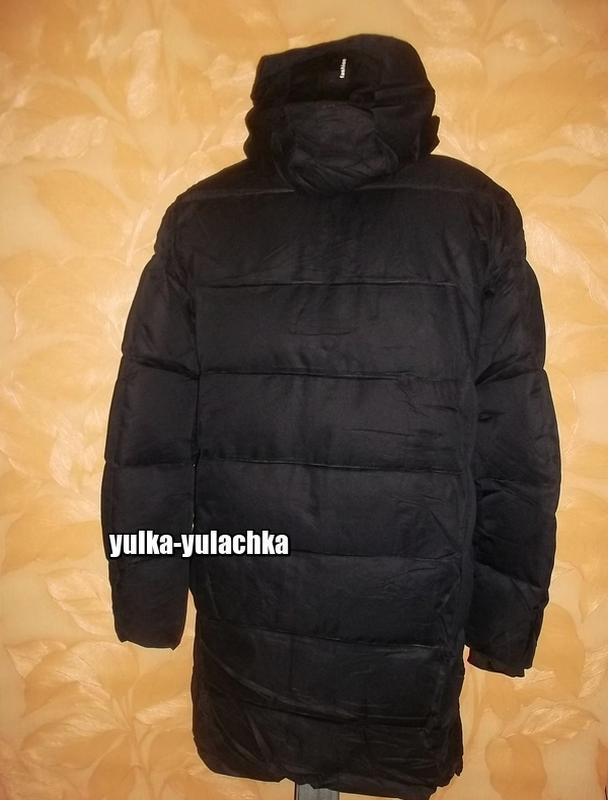 Зимняя мужская удлиненная куртка - Фото 7