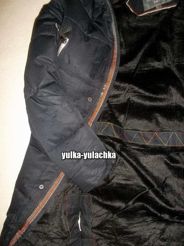 Зимняя мужская удлиненная куртка - Фото 9