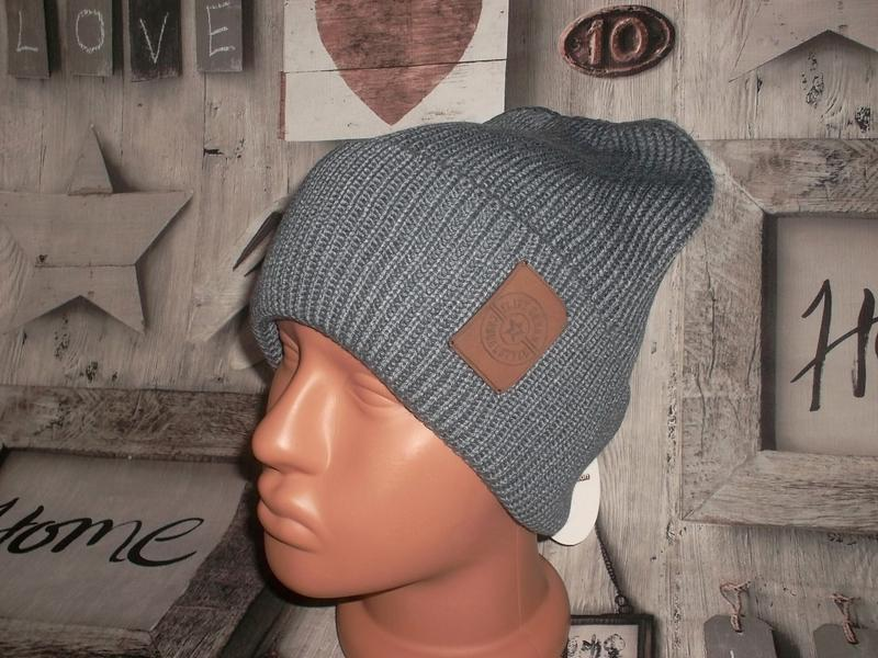 Мужская зимняя стильная шапка
