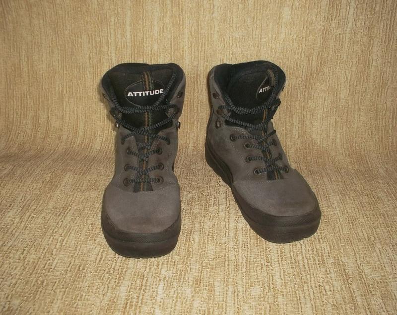 Теплые ботинки замша стелька 26 см. - Фото 2