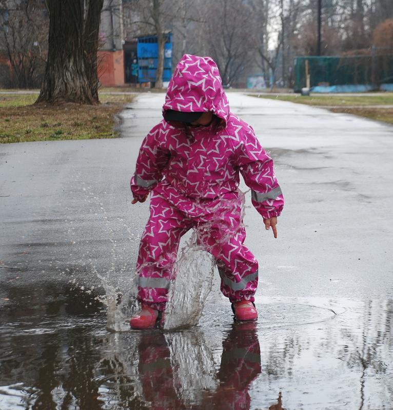 Комбинезон дождевик непромокаемый на рост 110-116 см.