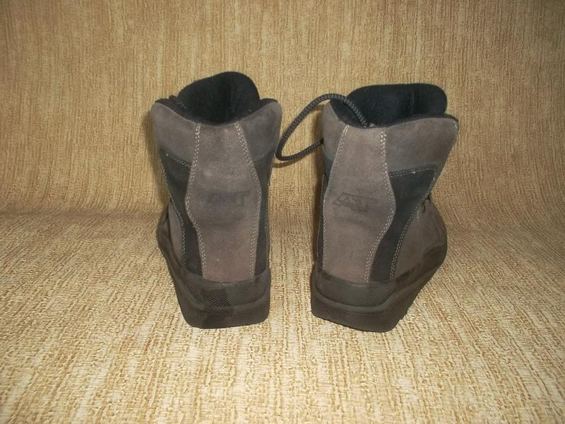 Теплые ботинки замша стелька 26 см. - Фото 4