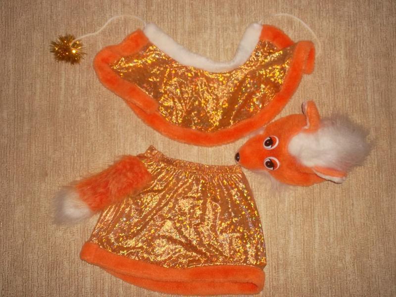 Костюм лисы лисички продажа