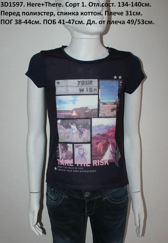 Класнюча футболка here+there