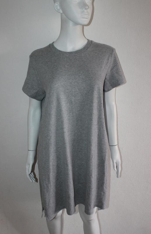 Туника с разрезами длинная футболка туника
