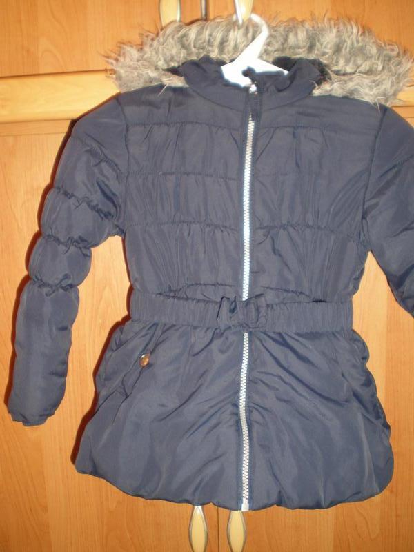 Куртка, еврозима, внутри флис, размер 5-6 лет 110-116 см, mini...