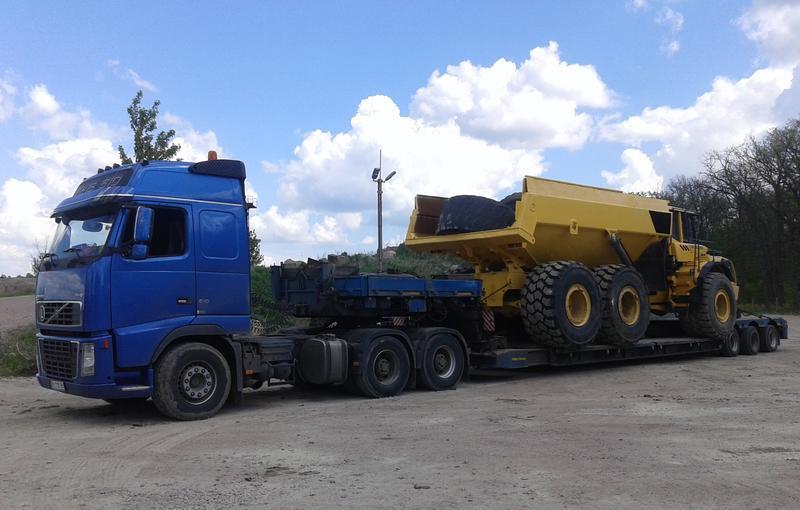Перевозка любого негабарита Украине, ЕС, СНГ. Тралы, платформы.