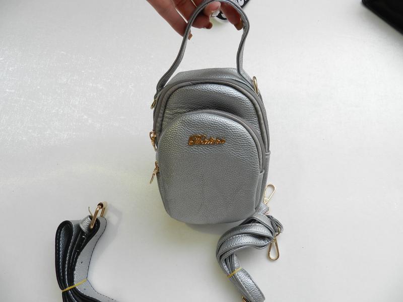 ✅клатч-сумка на пояс качество через плечо 3 в1