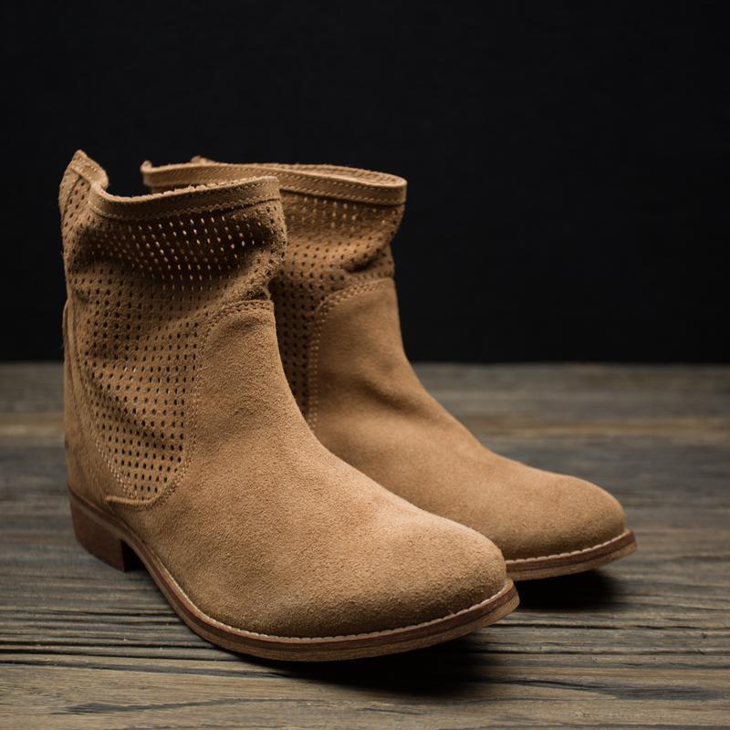 Женские демисезонные ботинки на низком ходу fosco р-39