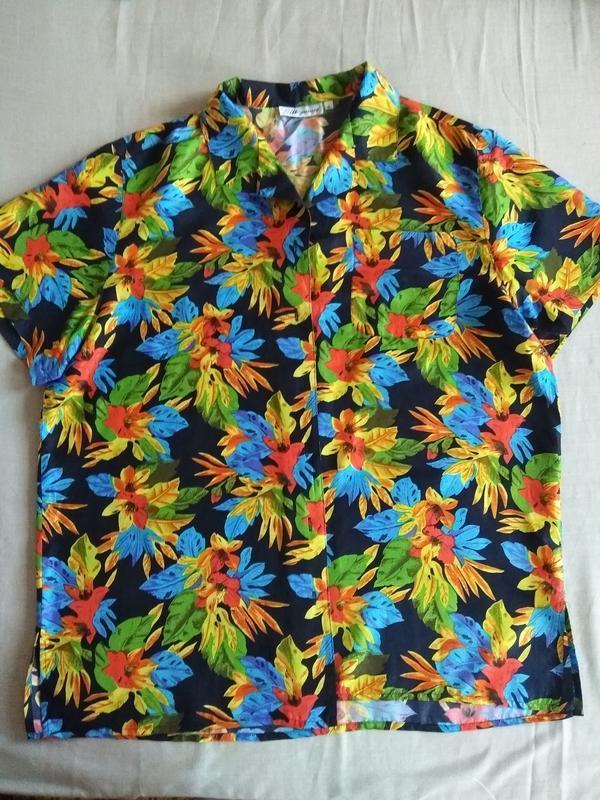 Красивая шелковая блуза в цветочный принт/silk specialist
