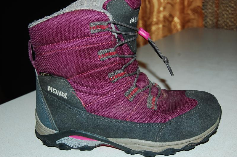 Термо ботинки meindl gore tex 33 размер