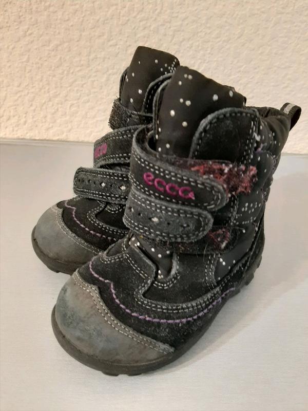 Ecco зимние ботинки