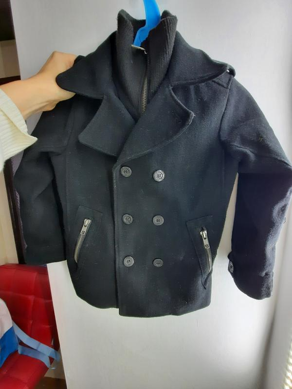 Пальто на мальчика 110 см h&m