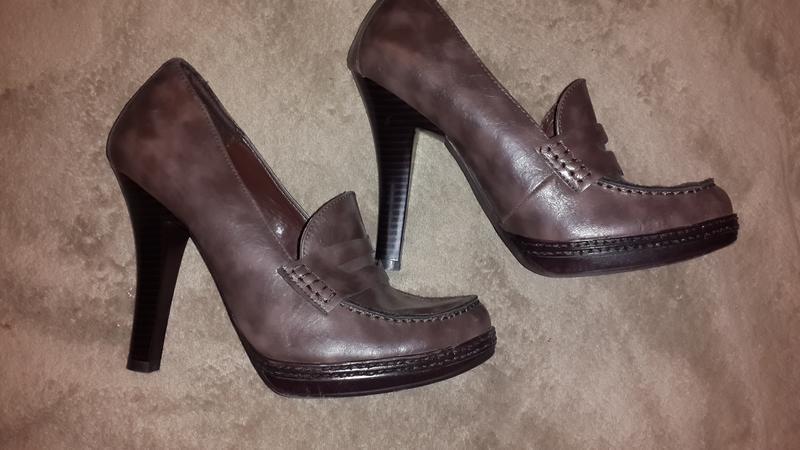 Туфли кожанные  paolo  размер 38