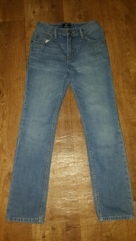 Крутые джинсы трубы  из америки на 12 лет