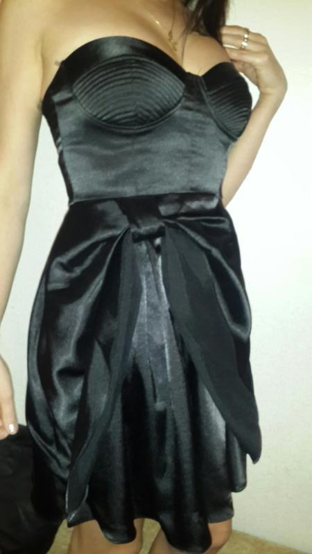 Платье бюстье  из америки размер s