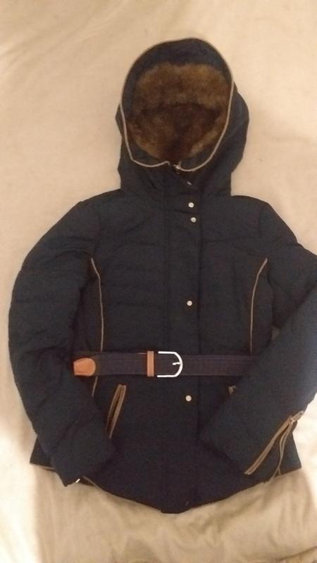 Куртка на пуху  размер xs- s