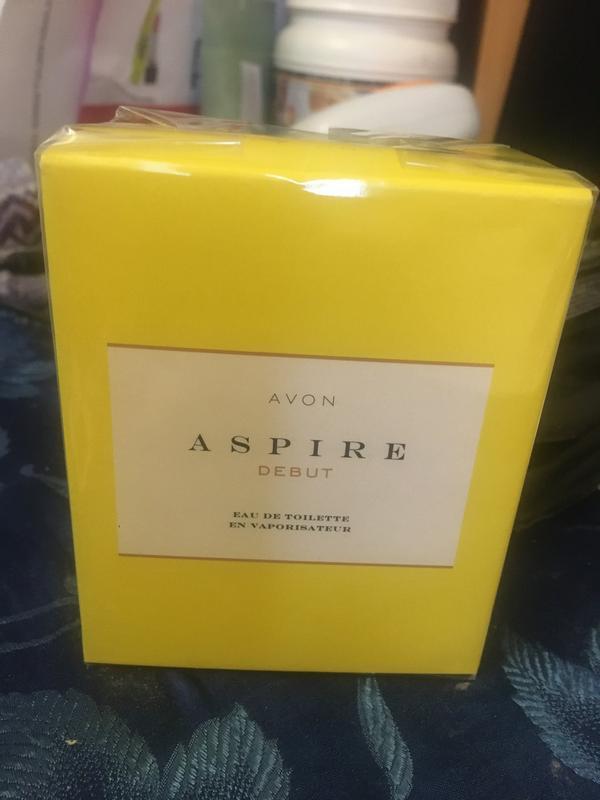 Туалетна вода aspire debut avon 50 мл