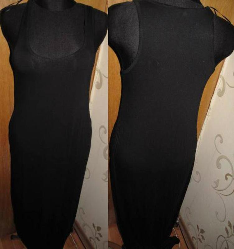 Чорна максі сукня для вагітних prenatal m