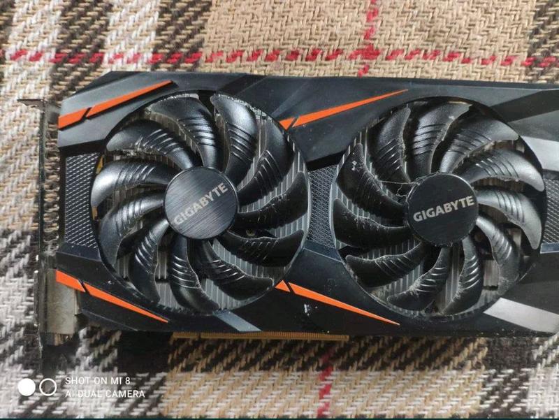 Продам игровую видеокарту Nvidia Geforce gtx1060 на 6гб
