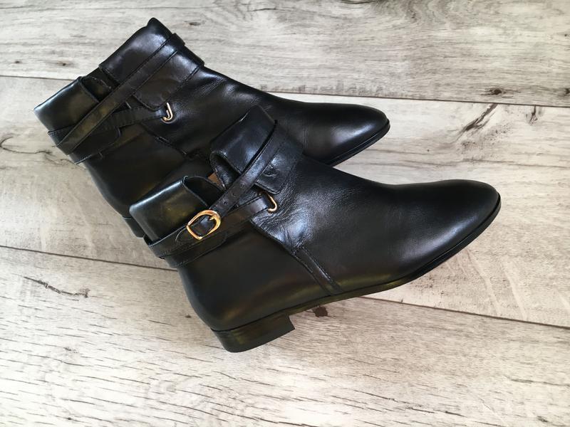 Ботинки женские massimo dutti 23см натур.кожа