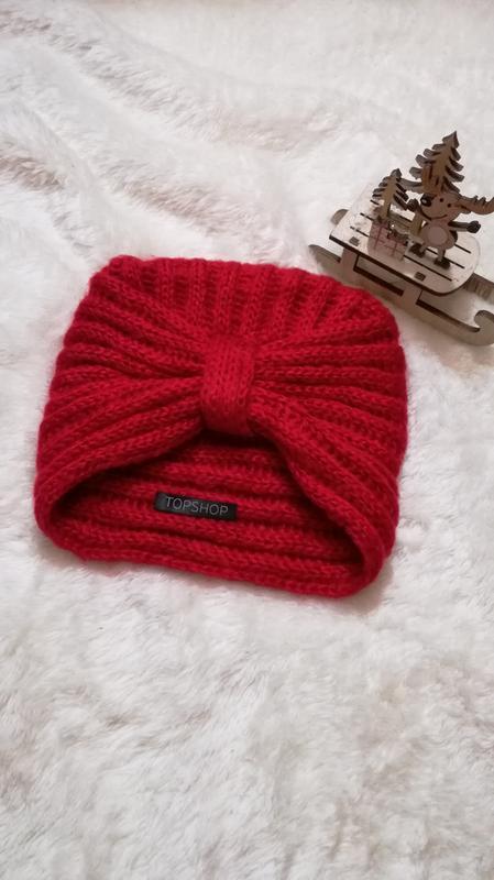 Шапка чалма шапка-тюрбан topshop