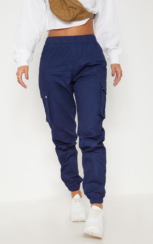 👑♥️final sale 2019 ♥️👑  темно синие брюки с карманами