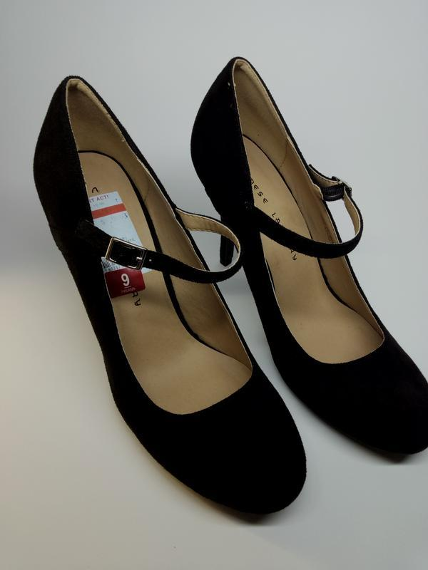 Класичні туфлі  з ремінцем chinese laundry /классические туфли...
