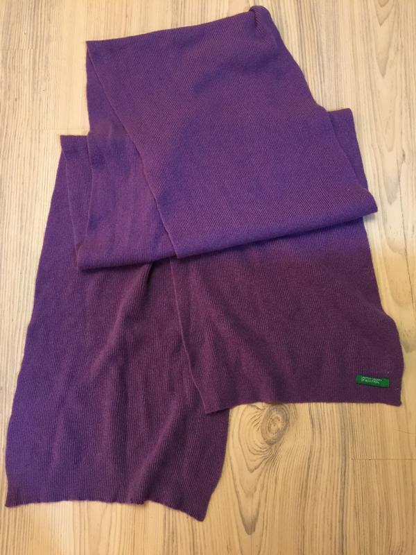 Benetton шарф ангора распродажа