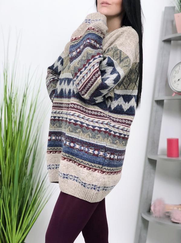 Винтажный свитер винтаж оверсайз angelo litrico шелк шерсть ан...