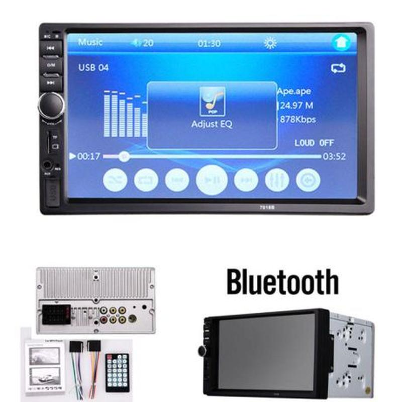 Автомагнитола 7018 B 2 DIN + Bluetooth + GPS