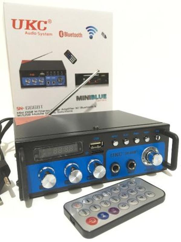 Усилитель звука UKC SN-666BT Bluetooth