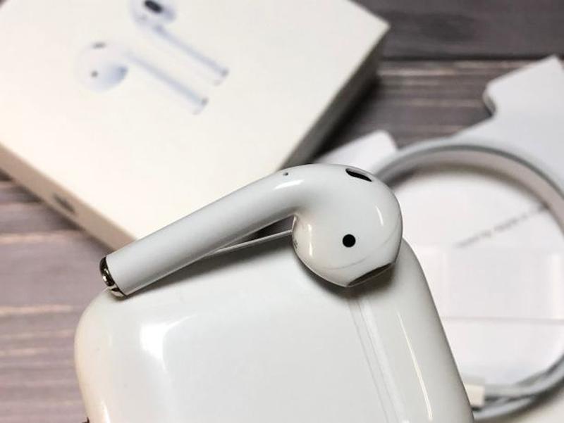 Наушники блютуз люксовая копия Apple AirPods - Фото 6