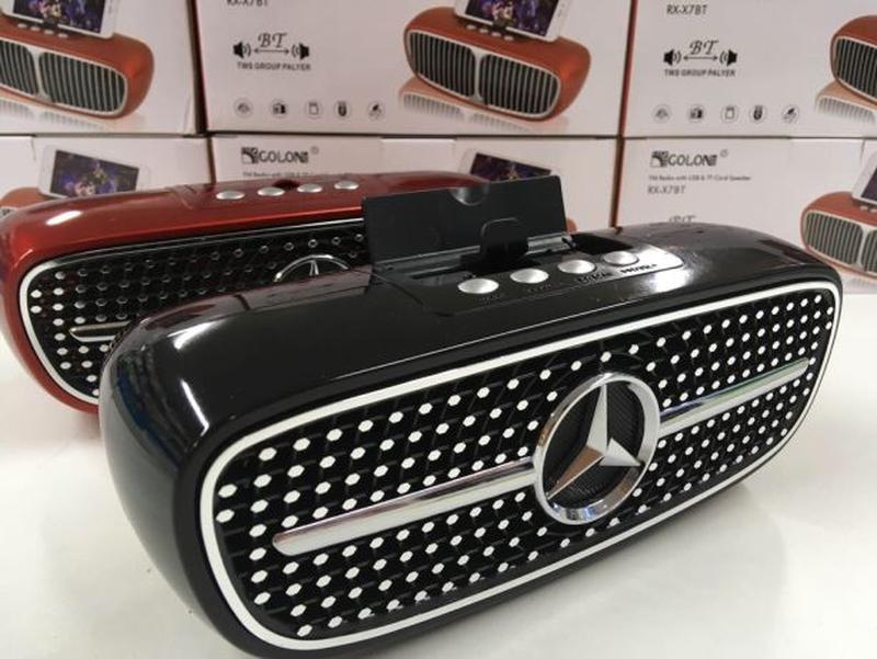 Блютуз колонка Golden RX-X8 (Mercedes)