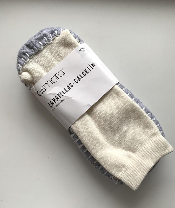 Тёплые тапочки - носки