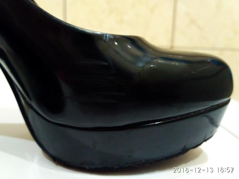 Обувь женская, туфли женские, кожа, туфлі жіночі б/у, розмір 36 - Фото 4