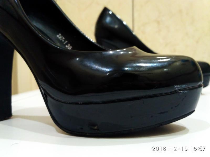 Обувь женская, туфли женские, кожа, туфлі жіночі б/у, розмір 36 - Фото 5