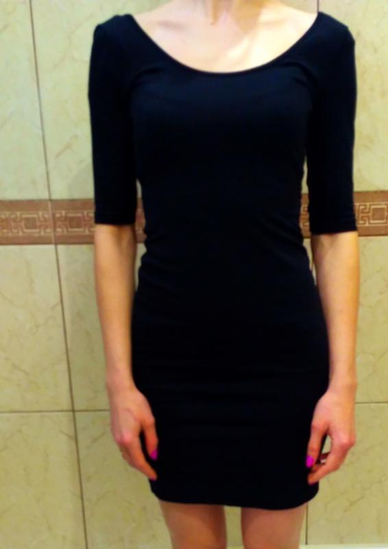 Платье женское, плаття h&m, розмір xs, 95% хлопок
