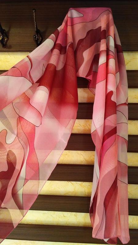 Парео, в ідеальному стані, рожевого кольору