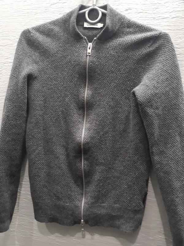 Шикарная шерстяная кофта  j. linderberg. merino wool.
