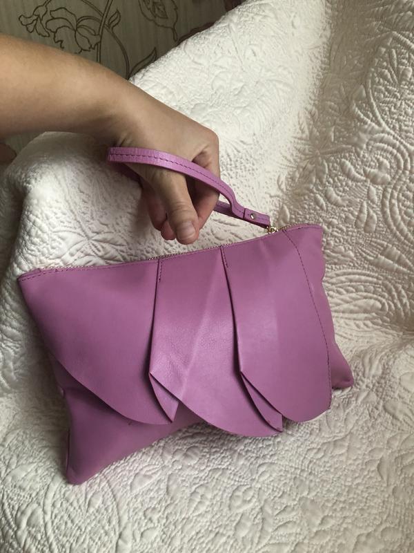 Стильный яркий клатч, кожаный сумка, сумочка, барсетка кошелёк...