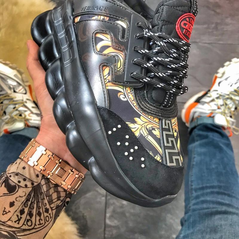 Стильные женские кроссовки v chain reaction black dragon, чёрн...