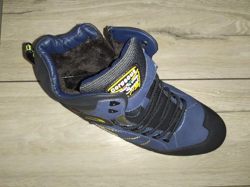 Зимние ботинки мужские для активного отдыха зимові чоловічі по... - Фото 2