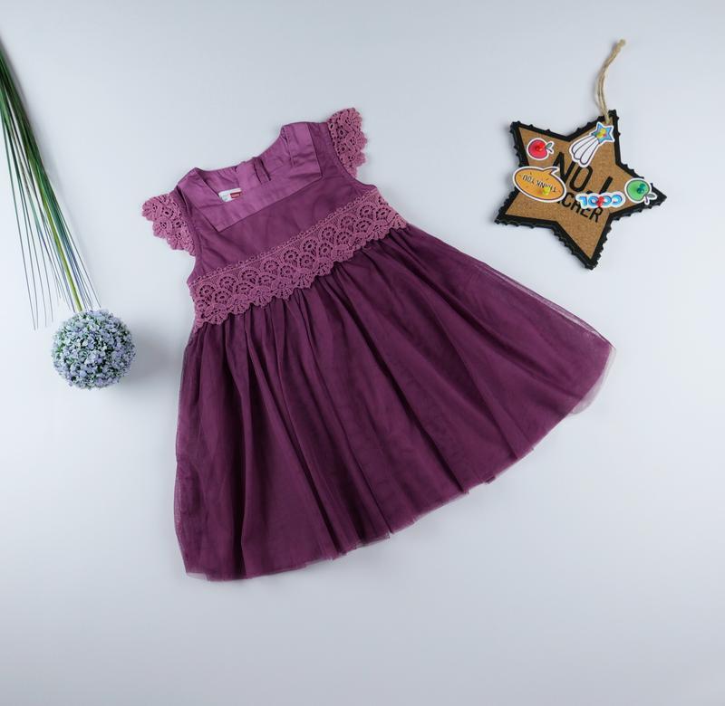 Нарядное платье на 1-1.5 года, рост 86 см
