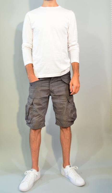 3094\90 мужские летние шорты h&m m l - Фото 3