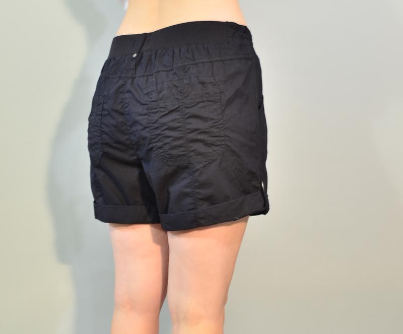 3089\50 летние шорты черного цвета papaya xxl - Фото 3