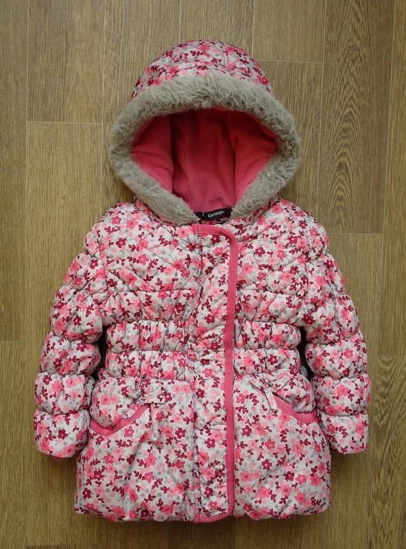 Яркая зимняя курточка