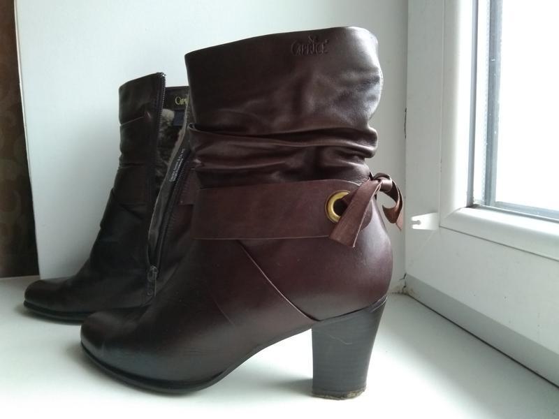 Зимние ботинки, полусапожки caprice