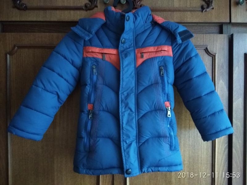 Куртка зимняя, курточка детская, теплая куртка